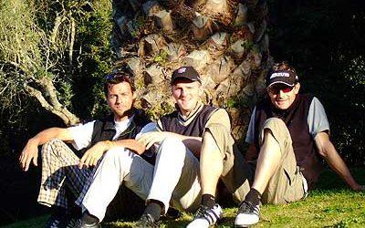Golfpro`s Stephan Kühne & Daniel Lamprecht